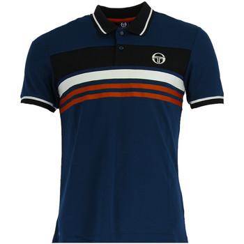 Vêtements Homme Polos manches courtes Sergio Tacchini Polo  Ishen - 37691-270--ISHEN-POLO Bleu