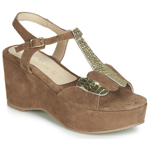 Chaussures Femme Sandales et Nu-pieds Lola Espeleta NAWELLE Marron