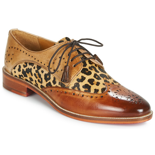 Femme Hamilton 4 MarronLéopard Chaussures Melvinamp; Derbies Betty l1FcKJ3T