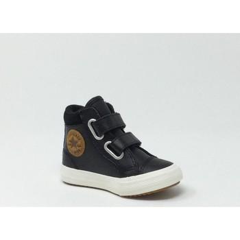 Chaussures Baskets montantes Converse Kids CONVERSE CTAS 2V  BOOT HI NOIR/MARRON Marron