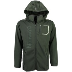 Vêtements Homme Vestes / Blazers Geographical Norway Softshell Homme Tortue Gris