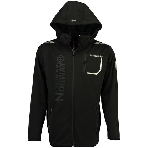 Vêtements Homme Vestes / Blazers Geographical Norway Softshell Homme Tortue Noir