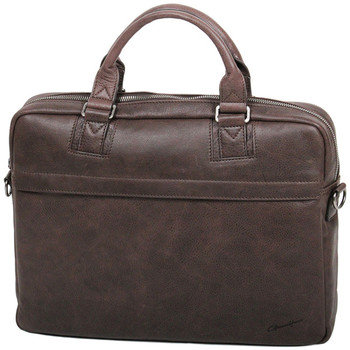 Sacs Homme Sacs ordinateur Gerard Henon Porte-ordinateur 15 Collection Vintage 7181 Chocolat