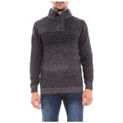 Vêtements Homme Pulls Ritchie Pull col montant LOOKEO Bleu marine