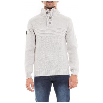 Vêtements Homme Pulls Ritchie Pull col montant LOOKEO Gris