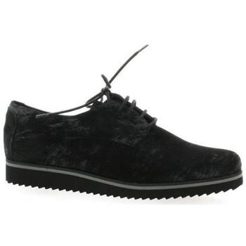 Chaussures Femme Derbies Elizabeth Stuart Derby cuir laminé Noir