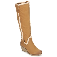 Chaussures Femme Bottes ville StylistClick SANAA Camel
