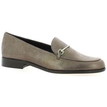 Chaussures Femme Mocassins Elizabeth Stuart Mocassins cuir laminé Marron