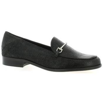 Chaussures Femme Mocassins Elizabeth Stuart Mocassins cuir laminé Noir