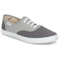 Chaussures Baskets basses Victoria INGLESA BICOLOR Gris