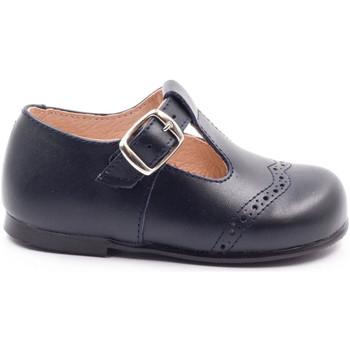 e4a5eb8433e Chaussures Fille Ballerines   babies Boni Classic Shoes Boni César - chaussures  premier pas classique Bleu