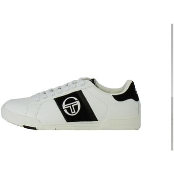 Chaussures Homme Baskets basses Sergio Tacchini Basket  PARIGGI LTX + SD - STM824126-WHITE-NAVY Blanc