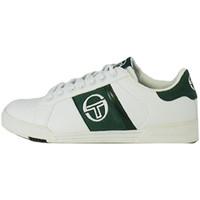 Chaussures Homme Baskets basses Sergio Tacchini Basket  PARIGGI LTX + SD - STM824126-WHITE-GREEN Blanc