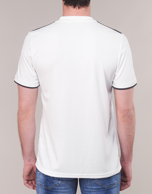 Homme Blanc Real Performance Adidas Jersey shirts Courtes Manches T CrBedox
