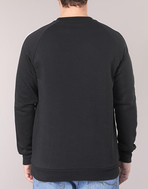 Crew 3 Noir Originals Sweats Stripes Homme Adidas rBodeCx