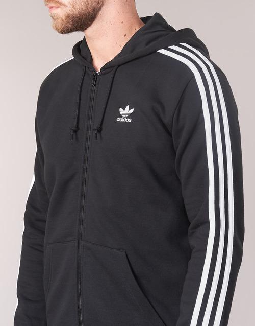 Noir 3 Stripes Sweats Originals Adidas Fz Homme tdrQCsh