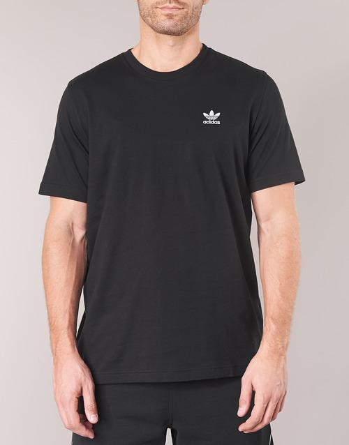 T Essential Manches T Noir Originals Adidas shirts Homme Courtes MVLGqpzjSU