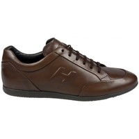 Chaussures Homme Baskets basses Hogan Baskets Guingamp Chocolat Marron