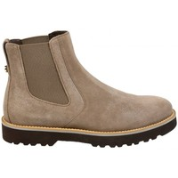 Chaussures Femme Boots Hogan Boots Terano Taupe Beige