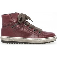 Chaussures Femme Baskets montantes Gabor Sneakers Rouge