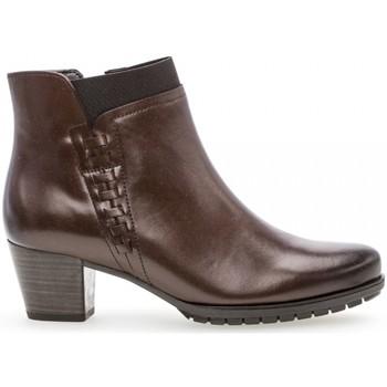 Chaussures Femme Bottines Gabor Bottines classiques Marron