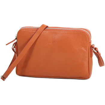 Sacs Femme Pochettes / Sacoches Gerard Henon Pochette collection TWIST 16200 Orange