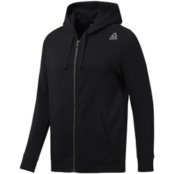 Vêtements Homme Sweats Reebok Sport EL Fleece FZ Black Noir