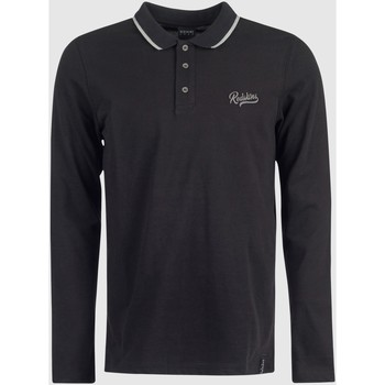 Vêtements Polos manches longues Redskins Polo manches longues SLYER MEW HEATHER GREY