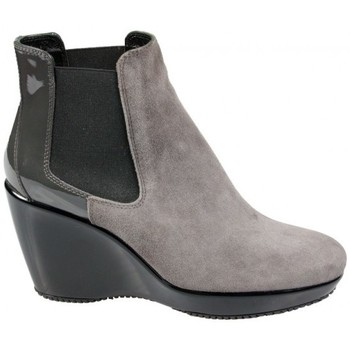 Chaussures Femme Bottines Hogan Boots Attractive Gris Gris