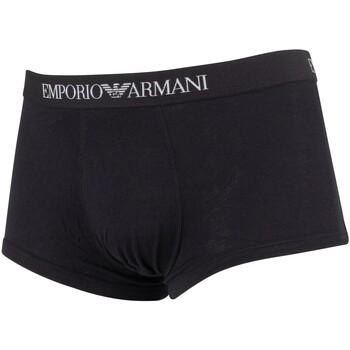 Vêtements Homme Boxers / Caleçons Armani Homme Pack de 3 troncs, Noir noir