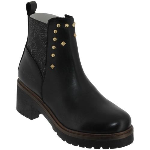 Chaussures Femme Bottines Desigual Biker Noir