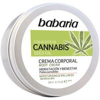 Beauté Hydratants & nourrissants Babaria Cannabis Crema Corporal Hidratante Y Bienestar