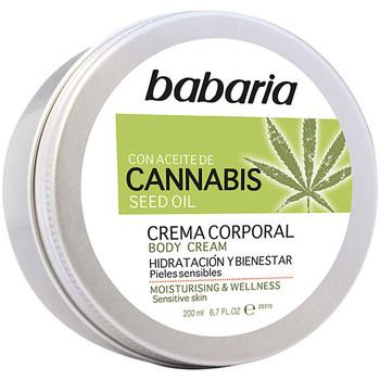 Beauté Hydratants & nourrissants Babaria Cannabis Crema Corporal Hidratante Y Bienestar  200 ml