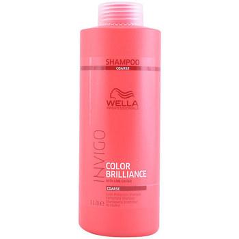 Beauté Shampooings Wella Invigo Color Brilliance Shampoo Coarse Hair  1000 ml