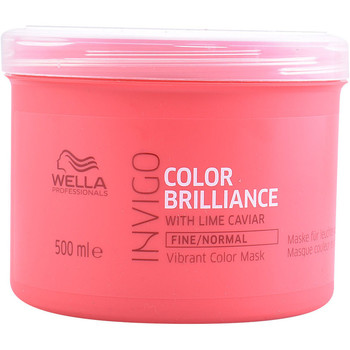 Beauté Soins & Après-shampooing Wella Invigo Color Brilliance Mask Fine Hair  500 ml