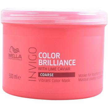 Beauté Soins & Après-shampooing Wella Invigo Color Brilliance Mask Coarse Hair  500 ml