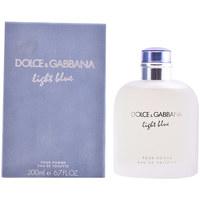 Beauté Homme Eau de toilette D&G Light Blue Pour Homme Edt Vaporisateur  200 ml