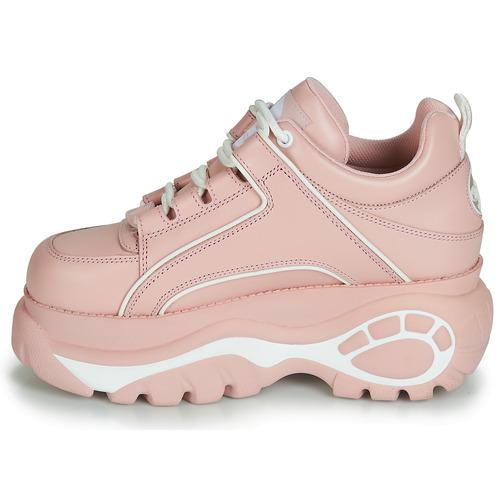 Femme Basses 1533063 Rose Buffalo Chaussures Baskets n0O8Pwk