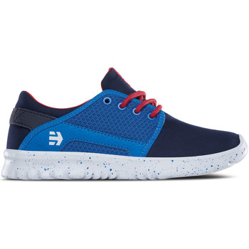 Chaussures Enfant Baskets basses Etnies KIDS SCOUT NAVY BLUE WHITE