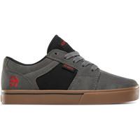 Chaussures Enfant Chaussures de Skate Etnies KIDS BARGE LS GREY BLACK GUM