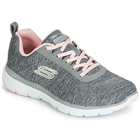 Chaussures Femme Baskets basses Skechers FLEX APPEAL 3.0 INSIDERS GREY