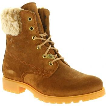 Chaussures Femme Bottes ville Panama Jack FELICIA B22 Marrón