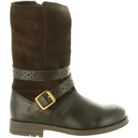 Chaussures Fille Bottes ville Chika 10 ADIVINANZA 03 Marr?n