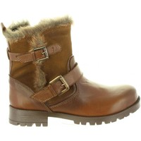 Chaussures Fille Bottes ville Chika 10 PARCHIS 04 Marr?n