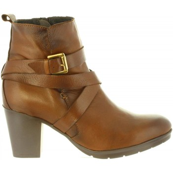 Chaussures Femme Bottes ville Chika 10 MARGOT 04 Marr?n