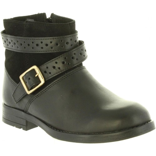 Chaussures Fille Bottines Chika 10 ADIVINANZA 04 Negro