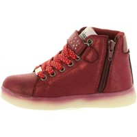 Chaussures Fille Bottines Chika 10 ALUCES 02 Rojo