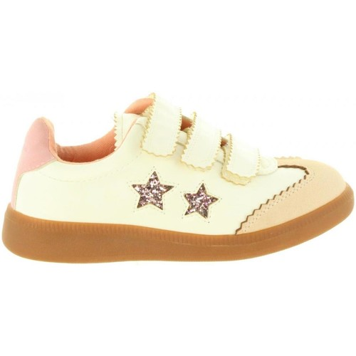 Chaussures Fille Baskets mode Chika 10 PUZZLE 01 Blanco