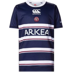 Vêtements T-shirts manches courtes Canterbury Maillot rugby Union Bordeaux B Rouge
