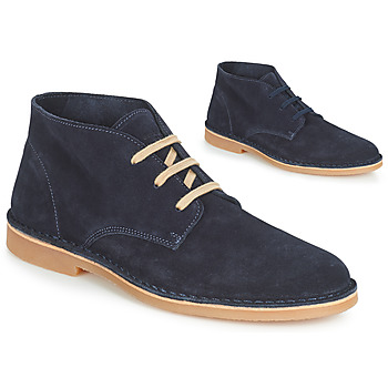 Chaussures Homme Boots Selected ROYCE DESERT LIGHT SUEDE Marine